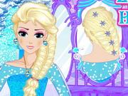 Play Elsa Royal Hairstyle