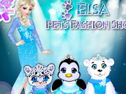 Play Elsa's Pets Fashion Show