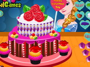 Play Elsa's Valentine's Day Cake