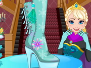 Play Elsa Shoes Design