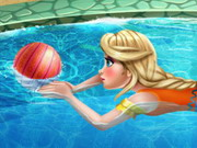 Play Elsa Swimming Pool