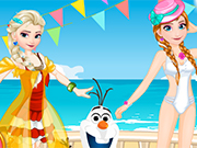 Play Elsa vs Anna Bikini Contest