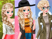 Play Elsa Warm Season Vs Cold Season