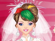 Play Emo Bride Dress Up