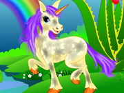 Play Enchanted Unicorn Spa