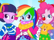 Play Equestria Girls Winter Fashion
