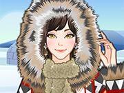 Play Eskimo Girl Makeup
