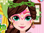 Play Fairy Face Painting Design