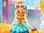 Play Fall Princess Dress Up