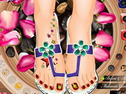 Play Fancy Foot Pedicure