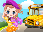 Play Fashion School Girl Dress Up