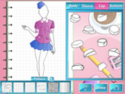 Play Fashion Studio - Air Hostess Outfit