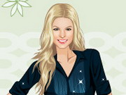 Play Fergie Dress Up Game