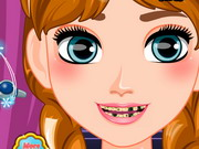 Play Frozen Anna Dentist