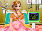 Play Frozen Anna Emergency Birth