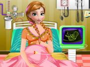 Play Frozen Anna Emergency Birth