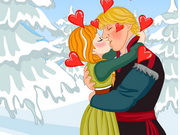 Play Frozen Anna Kissing