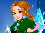 Play Frozen Anna Makeover