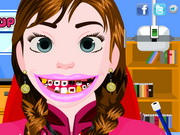 Play Frozen Anna Tooth Care
