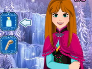 Play Frozen Anna Waterfall Braids