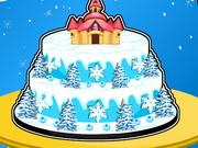 Play Frozen Castle Cake