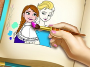 Play Frozen Coloring Book