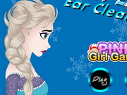 Play Frozen Elsa Ear Cleaning