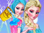 Play Frozen Elsa Ice Bucket Makeover