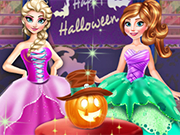 Play Frozen Halloween Party