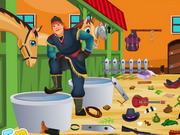 Play Frozen Kristoff Stable Cleaning