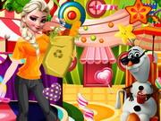 Play Frozen Princess Candy World