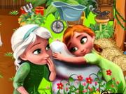 Play Frozen Princess Garden