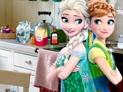 Play Frozen Princess Kitchen