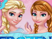 Play Frozen Prom Makeup Design