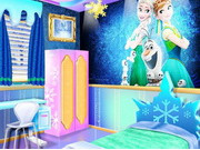 Play Frozen Sisters Decorate Bedroom