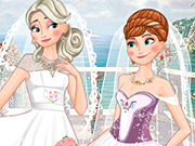 Play Frozen Sisters Double Wedding