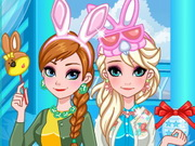 Play Frozen Sisters Easter Fun