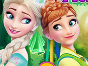 Play Frozen Sisters Facial