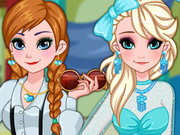 Play Frozen Sisters Prom