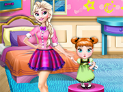 Play Frozen Sisters Room Deco