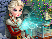 Play Frozen X-mas House Makeover