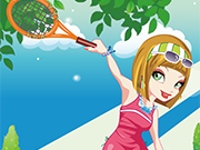 Play Funky Tennis Girl