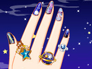 Play Galaxy Nail Art Designs