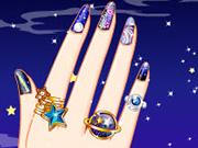 Play Galaxy Nail Art Designs