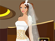 Play Gentle Bride in Wedding Day Dressup