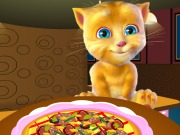 Play Ginger Cooking Pizza