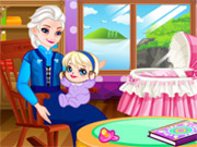 Play Grandma Elsa Cares Baby