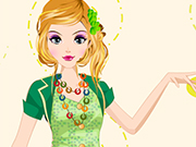 Play Green Elf Dressup