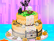 Play Halloween Special Cake Cooking