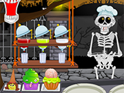 Play Hallowen Graveyard Restaurant